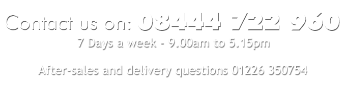 Order direct - 08444 722 960