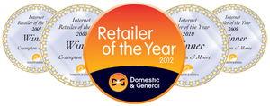 Retailer of the Year Award 2007-2012