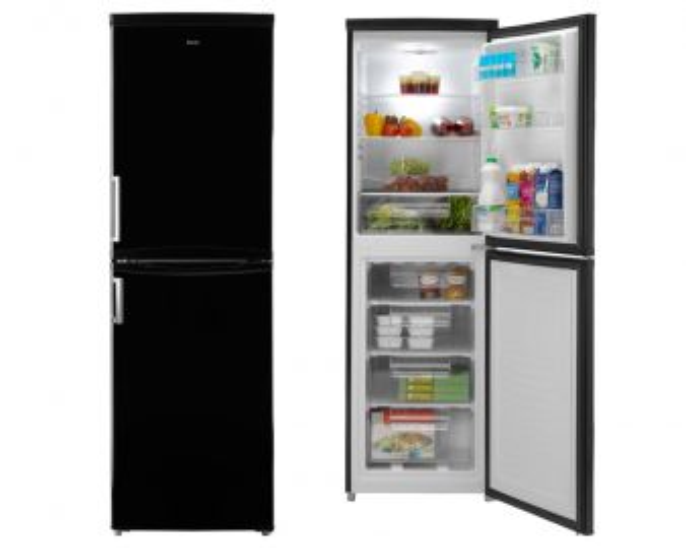 Candy CCBF5172BHK 177x55cm Frost Free Black Fridge Freezer