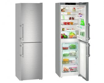 Liebherr Comfort CNef3915 200x60cm A++ No Frost Stainless Steel Fridge Freezer