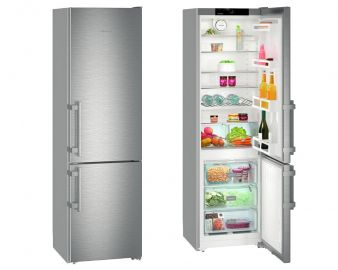 Liebherr Comfort CNef4015 201x60cm A++ No Frost Stainless Steel Fridge Freezer