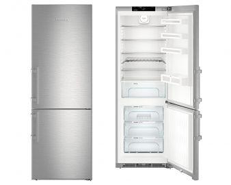 Liebherr Comfort CNEF5735 201x70cm No Frost Stainless Steel Fridge Freezer