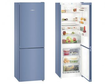 Liebherr CNFB4313 186.1x60cm  A++ No Frost Frozen Blue Fridge Freezer