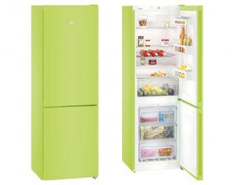 Liebherr CNKW4313 186x60cm 60/40 A++ No Frost Kiwi Green Fridge Freezer