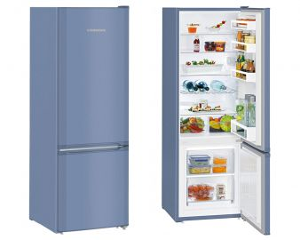 Liebherr CUFB2831 161.2x55cm A++ Smart Frost Blue Fridge Freezer