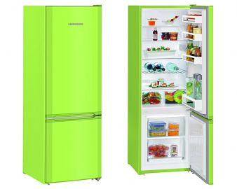 Liebherr CUKW2831 161.2x55cm A++ Smart Frost Kiwi Green Fridge Freezer