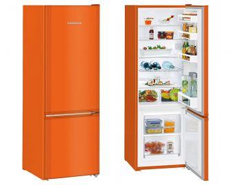 Liebherr CUNO2831 161.2x55cm A++ Smart Frost Neon Orange Fridge Freezer