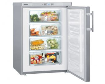 Liebherr GPesf1476 60cm 102L Smart Frost Stainless Steel Under Counter Freezer