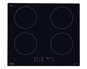 Belling Black IHT6013 60cm Touch Control Four Zone Induction Hob