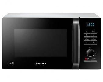 Samsung MS23H3125AW White 23L Microwave with Smart Sensor