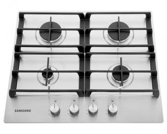 Samsung NA64H3010AS Gas Hob in Stainless Steel