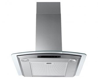 Samsung NK24M5070CS 60cm Chimney Hood with Curved Glass