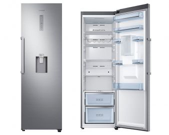 Samsung RR39M73407F Tall Stainless Steel Larder Fridge with Water Dispenser