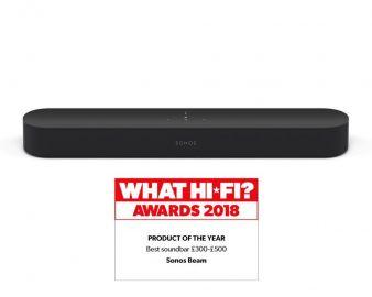 SONOS Beam Smart compact soundbar - Black