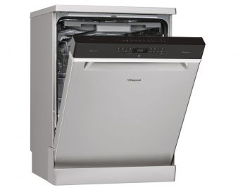 Whirlpool WFO3P33DLXUK 14 Place Stainless Steel Dishwasher