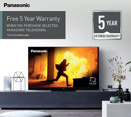 Panasonic 5 Year Warranty