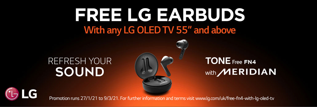 LG Earbuds Promotion