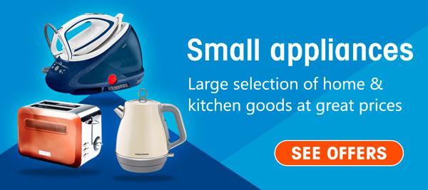 Small appliances savings