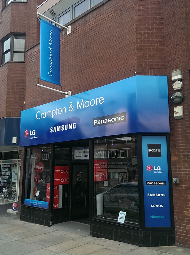 Crampton and Moore Leeds Store