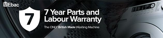 ebac 7 year warranty