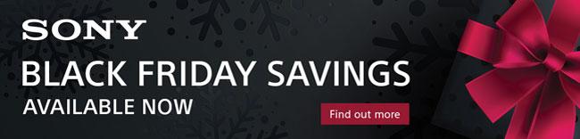 Sony Black Friday Deals